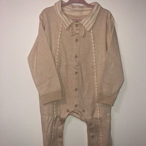 Other - 100% Organic Cotton Baby Romper  Beige 18-24mos